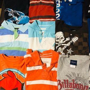 15 boys 10/12 shirts